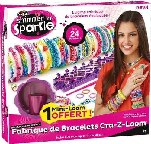 Cra-Z-Art Loom Bracelet Maker
